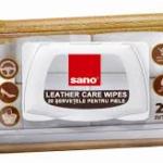 Lavete umede Sano pentru canapele din piele